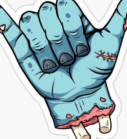 Shaka brah! - Zombie Sticker