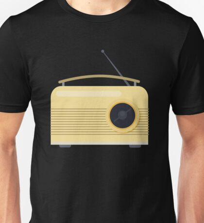 Vintage Retro AM FM Radio - Music Tech Unisex T-Shirt