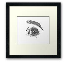 Eye #1 Framed Print