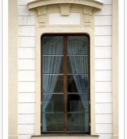 A simple window, Prague Sticker