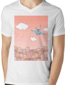 Sunrise Mens V-Neck T-Shirt
