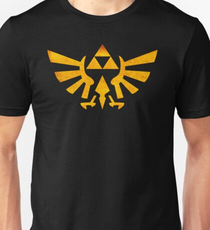 °GEEK° Triforce Rust Logo Unisex T-Shirt