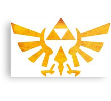 °GEEK° Triforce Rust Logo Metal Print