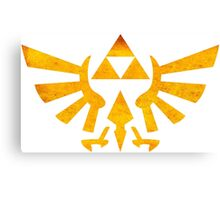 °GEEK° Triforce Rust Logo Canvas Print