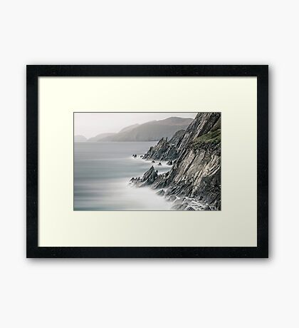 Fight Against The Tide Framed Print