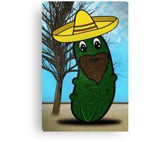 Señor Pickle Canvas Print