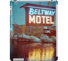 Evening at the Beltway Motel iPad Case/Skin