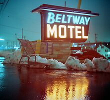 Evening at the Beltway Motel by Daniel Regner