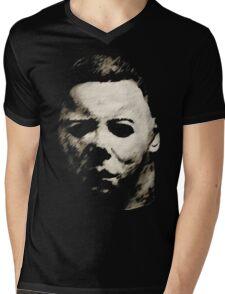 Michael Myers Mens V-Neck T-Shirt