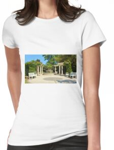 Tranquility Garden Womens Fitted T-Shirt