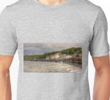 A Grey Day in Filey Unisex T-Shirt