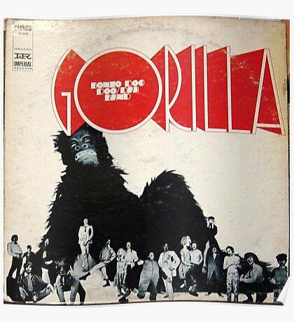 Bonzo Dog Doo Dah Band Gorilla Poster