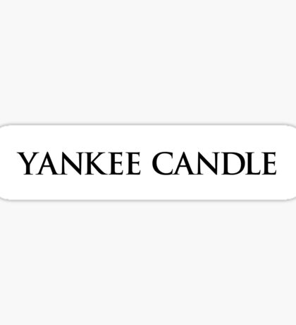 Yankee Candle IV. Sticker