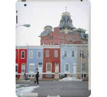 Rowhomes in Baltimore iPad Case/Skin