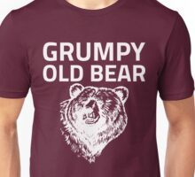 Grumpy Old Bear Unisex T-Shirt