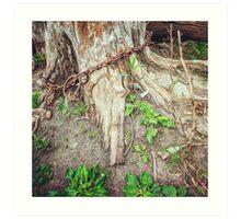 LG G5 Chained Tree Art Print