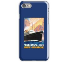 Vintage Greece and Istanbul Ocean Liner Travel iPhone Case/Skin