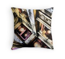 Royalty Oblivion Throw Pillow