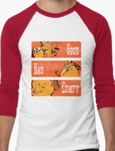 The Good, the Bad and the Lumpy Men's Baseball ¾ T-Shirt