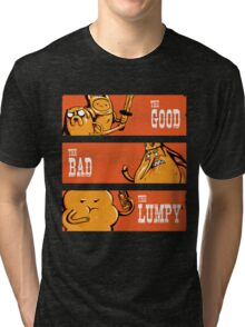 The Good, the Bad and the Lumpy Tri-blend T-Shirt