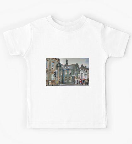 Slate Buildings in Keswick Kids Tee
