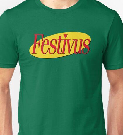 Festivus x Seinfeld Logo Unisex T-Shirt
