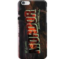 Welcome to Mordor iPhone Case/Skin