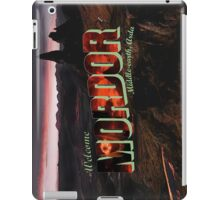 Welcome to Mordor iPad Case/Skin