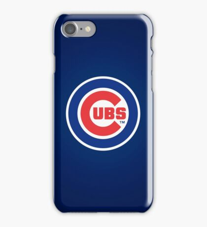 Chicago Cubs logo iPhone Case/Skin