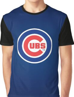 Chicago Cubs logo Graphic T-Shirt