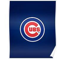 Chicago Cubs logo Poster
