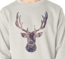 Abstract Deer Pullover