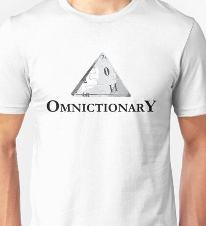 Omnictionary shirt – Paper Towns, John Green Unisex T-Shirt