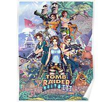 Tomb Raider III - 20 Years of Tomb Raider Poster