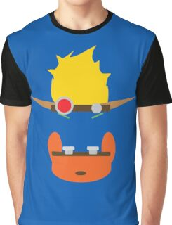 Jak & Daxter - Minimal Design Graphic T-Shirt