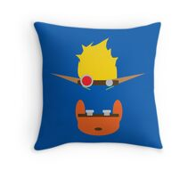 Jak & Daxter - Minimal Design Throw Pillow
