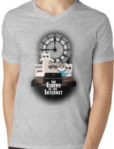 Elders of the Internet Mens V-Neck T-Shirt