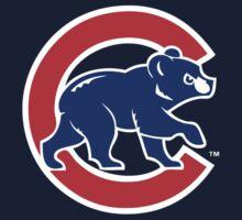 Chicago Cubs logo 2 Kids Tee