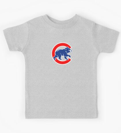 Chicago Cubs logo 2 Kids Tee