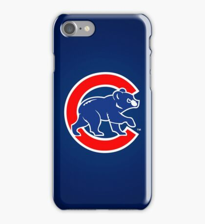 Chicago Cubs logo 2 iPhone Case/Skin