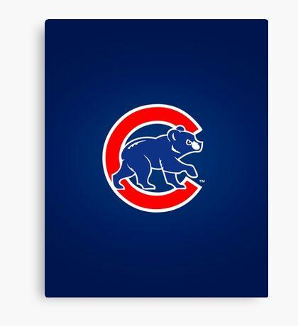Chicago Cubs logo 2 Canvas Print