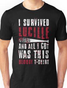 I Survived Lucille. Unisex T-Shirt