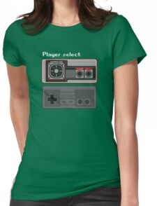 Select player 01 Womens Fitted T-Shirt