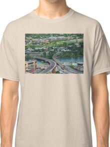 A View of Calgary, Alberta, Canada from the Calgary Tower Classic T-Shirt