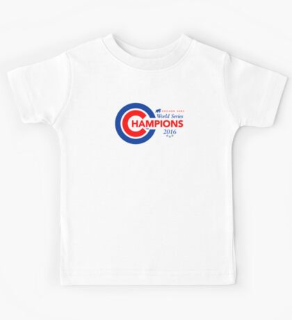 Chicago Cubs Champions Kids Tee