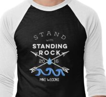 Stand with Standing Rock Men's Baseball ¾ T-Shirt