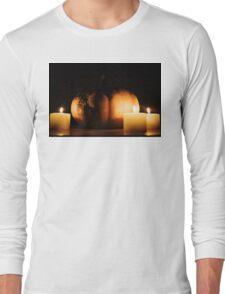 The dark side of the Pumpkin Long Sleeve T-Shirt