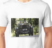 Three Castles Classic Welsh Trial 2016 - Bentley Unisex T-Shirt