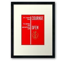 Bic Macintosh Wisdom - Quote Framed Print
