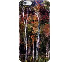 Wind in the Birches iPhone Case/Skin